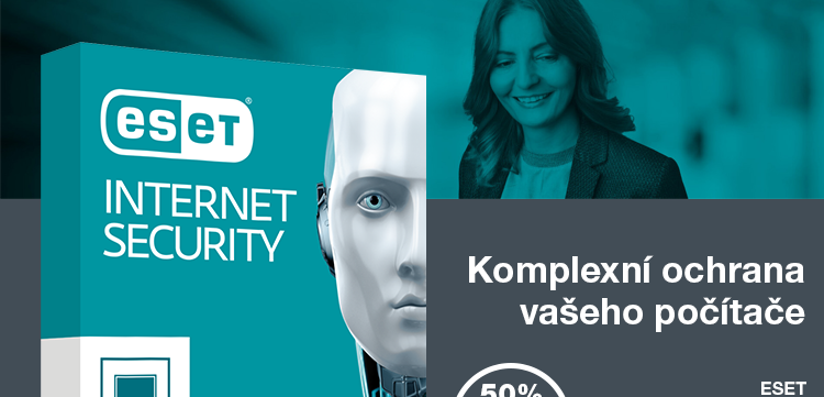 SET Internet Security 50% sleva STUDENT ISIC