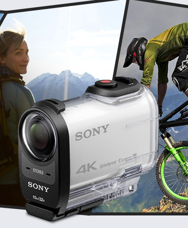 Sony 4K FDR-X1000V Action Cam