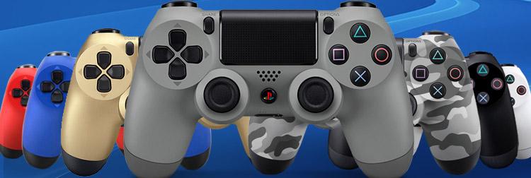 Dualshock 4 Controller Silver