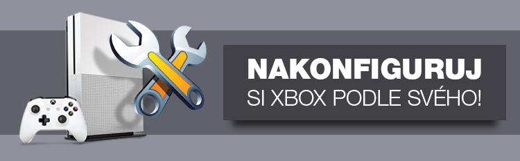 nakonfiguruj si svojí sestavu XBOX snů