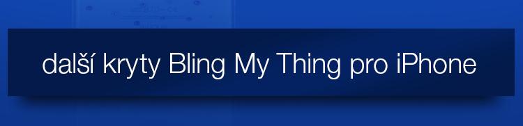 Zadní kryty Bling my Thing se Swarovski Elements pro iPhone