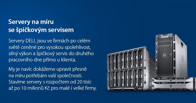 DELL servery, racky a platformy servery