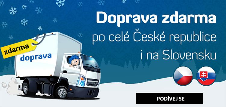 Doprava zdarma až do Vánoc!
