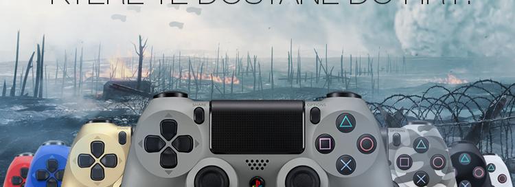 Dualshock 4 Controller 8 barevných variant skladem