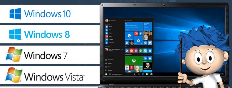 Odvirování + záloha + Instalace OS Windows Xp, Vista, 7, 8, 10
