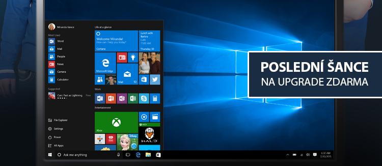 Upgrade OS Windows 7, 8, 8.1 na Windows 10