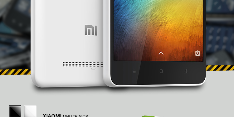 Xiaomi Mi4i Black- LTE 16GB