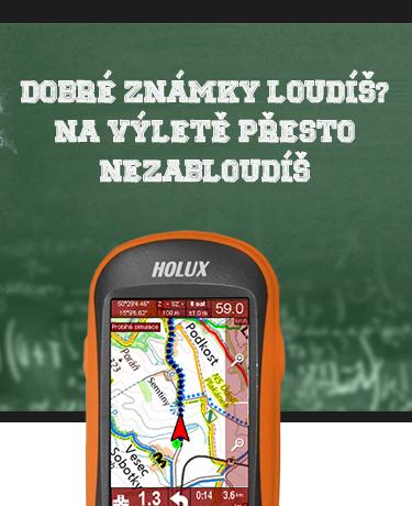 HOLUX Funtrek 132 cyklo-turistická GPS navigace