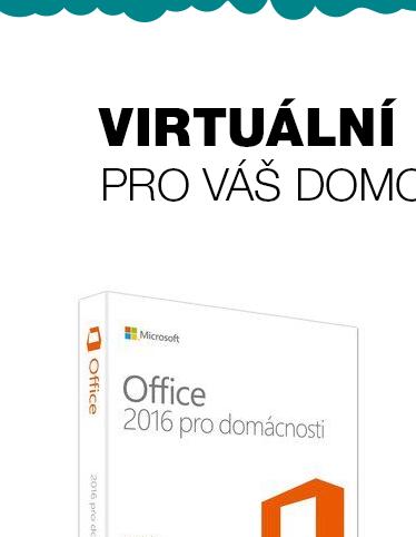 MS Office 2016 pro domácnosti a studenty