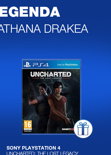 PS4 Uncharted: The Lost Legacy