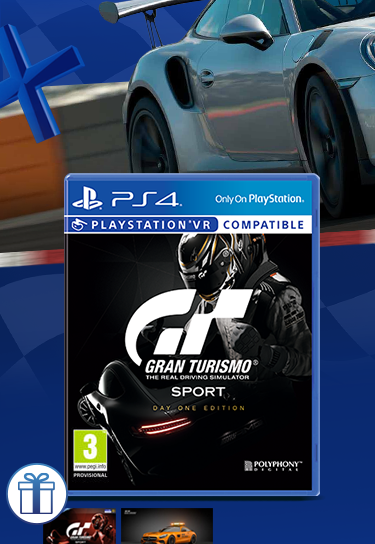 PS4 Gran Turismo Sport - Day One Edition