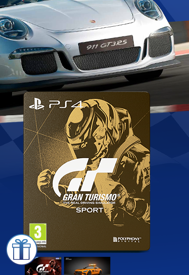 PS4 Gran Turismo Sport - Steelbook Edition