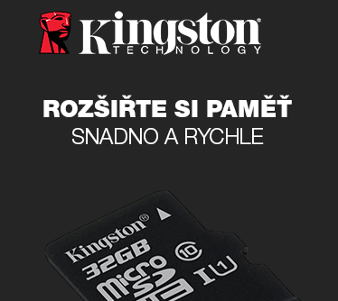 Kingston microSDHC 32GB bez adaptéru