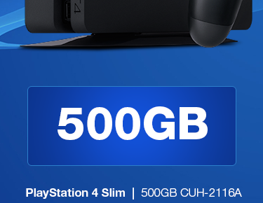 500GB Slim Black