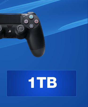 SONY PlayStation 4 - 1TB slim Black CUH-2116B