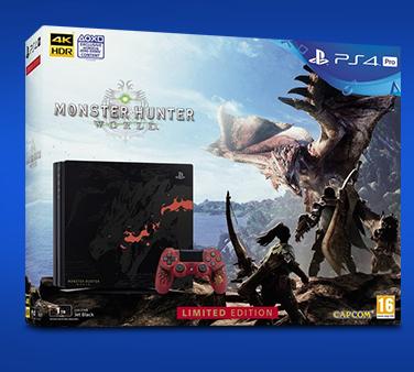 PlayStation 4 Pro - 1TB Monster Hunter