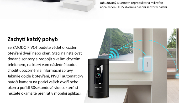 Zmodo PIVOT Smart Home System