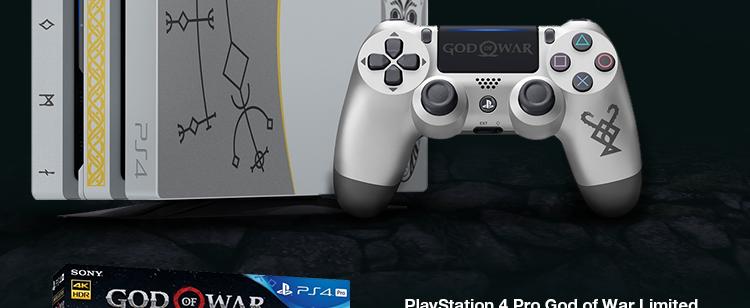 SONY PlayStation 4 Pro God of War Limited Edition