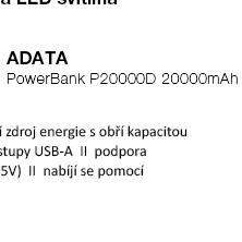 ADATA PowerBank P20000D 20000mAh