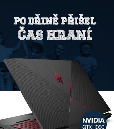 HP Omen 15-ce006nc černá