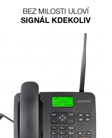 Aligator T100 stolní GSM