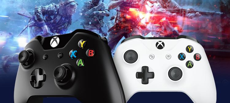 Microsoft Xbox One bezdrátový ovladač bílá