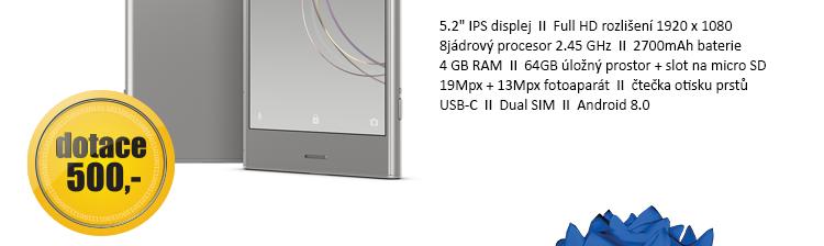 SONY Xperia XZ1 Dual stříbrná