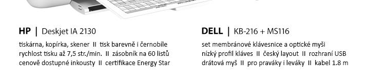 Počítačový set CLOUD DELUXE