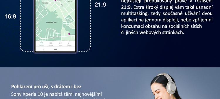 SONY Xperia 10 I4113 černá
