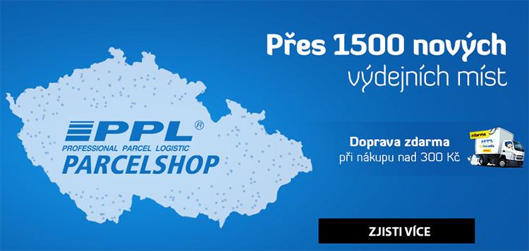 Doprava - PPL Parcelshop