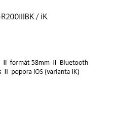 Bixolon SPP-R200IIIBK