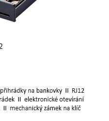 METAPACE K-2 pokladní zásuvka