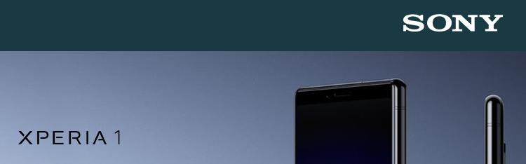Sony Xperia 1 černá
