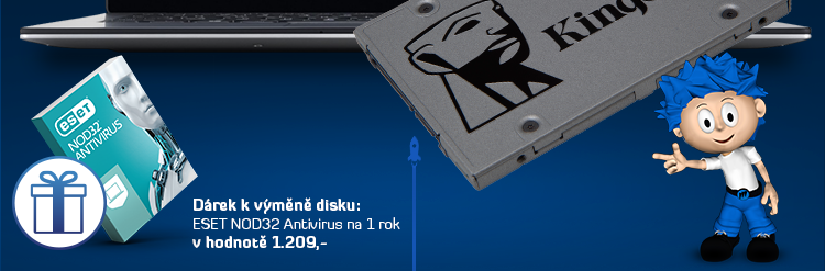 Upgrade notebooku nebo PC