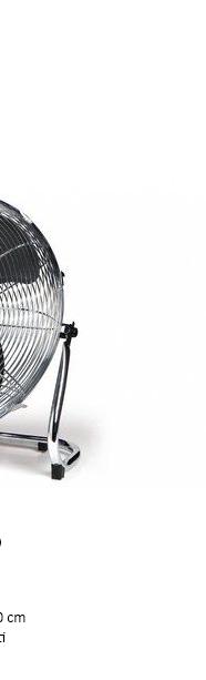 DOMO DO8131 Podlahový celokovový ventilátor 40 cm