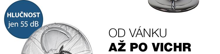 DOMO DO42830 Podlahový celokovový ventilátor 30 cm