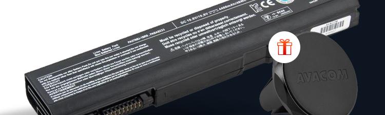 Baterie Avacom pro notebooky
