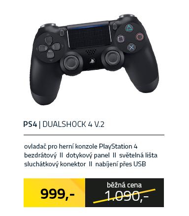 Dualshock 4 V.2 Controller Black
