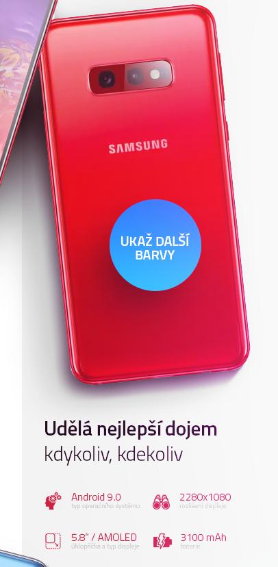 Samsung Galaxy S10e více barev