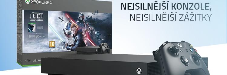 Microsoft Xbox One X 1TB - Star Wars Jedi: Fallen Order Edition
