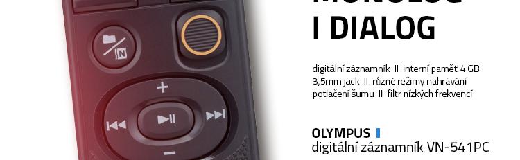 Olympus digitální záznamník VN-541PC
