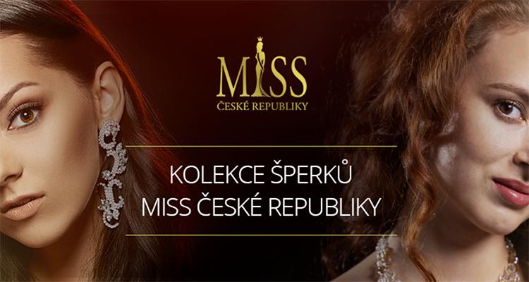 Kolekce šperků Miss České republiky