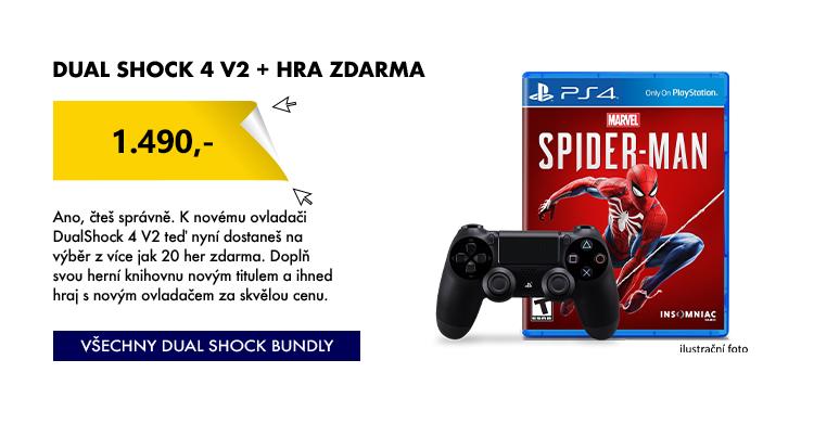 Dualshock 4 V2 + Hra zdarma