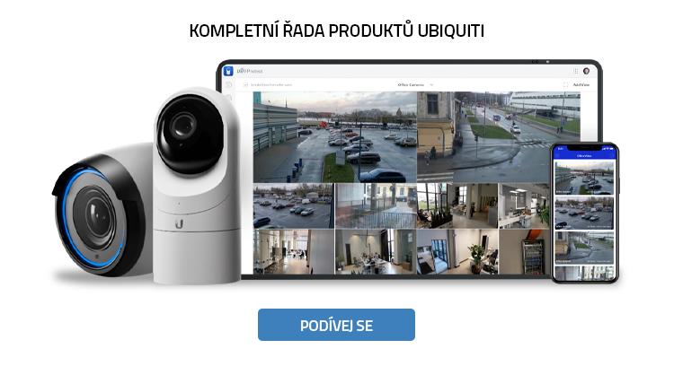 Kompletní řada produktů Ubiquiti