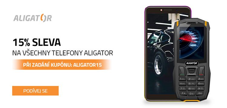 Mobilní telefony Aligator