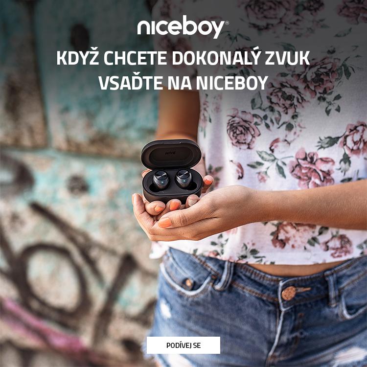 Sluchátka Niceboy