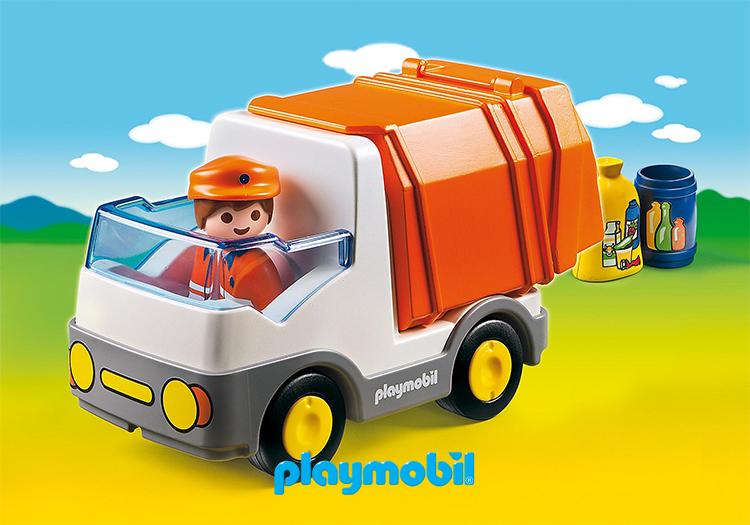 řada PLAYMOBIL®-1.2.3 je ideální pro děti od 1 1/2 roku, ergonomicky tvarované, podporují rozvoj jemné motoriky a kreativity