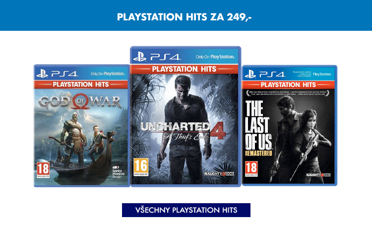 Playstation Hits za 249,-