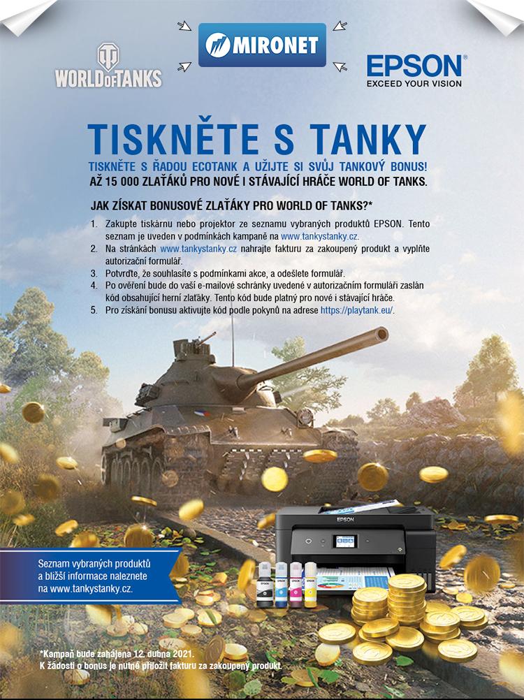 Epson tanky