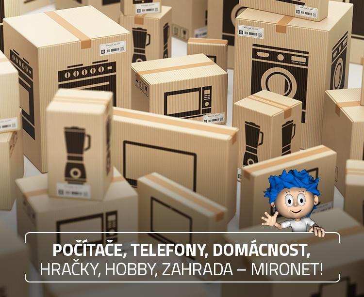 Počítače, telefony, domácnost, hračky, hobby, zahrada - Mironet